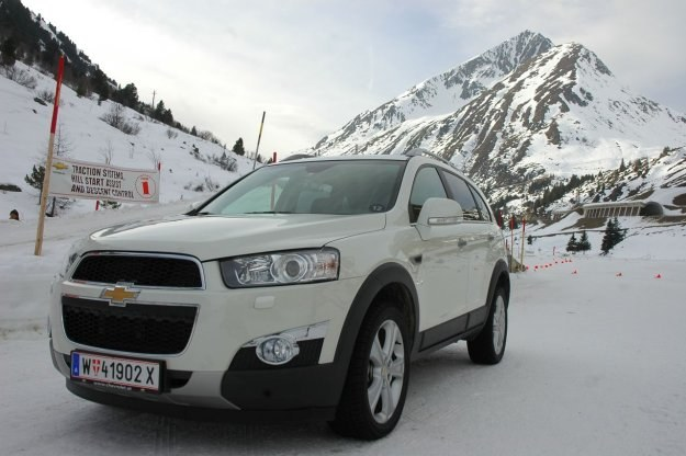 Chevrolet captiva /INTERIA.PL