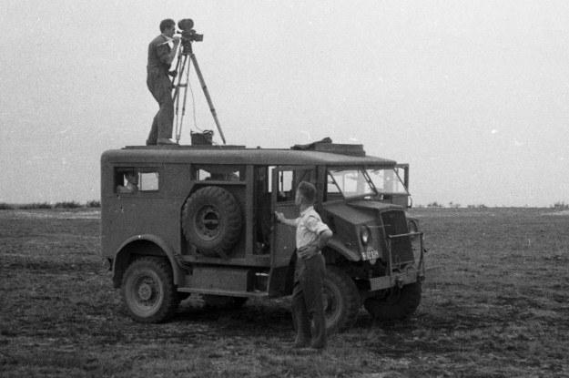 Chevrolet jako wóz Polskiej Kroniki Filmowej /