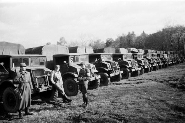 Chevrolety w Ludowym Wojsku Polskim /