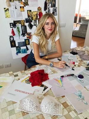 Chiara Ferragni zaprojektuje kostiumy do nowej edycji Intimissimi