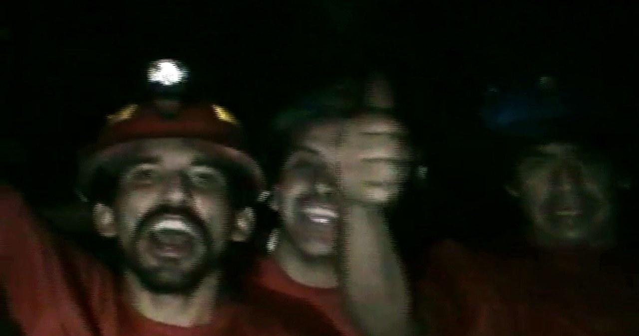Chilijscy górnicy 26. dzień pod ziemią