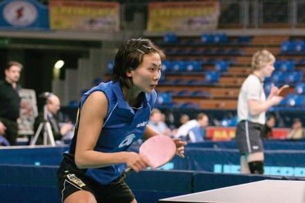 Chinka Xu Jie godnie reprezentuje Polskę. Fot. Mariusz Krupa. /Agencja Przegląd Sportowy