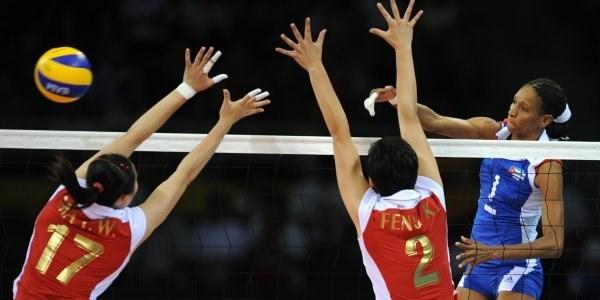 Chinki pokonały Kubę w meczu o brązowy medal /AFP