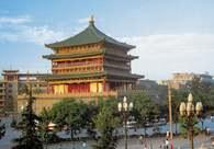 Chińska sztuka: Mała Pagoda Dzikich Gęsi, Xi-an /Encyklopedia Internautica