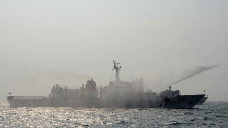 Chiński okręt patrolowy /AFP