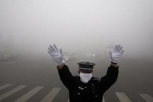 Chiński smog niczym nuklearna zima
