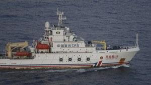 Chiński statek wykrył sygnał w rejonie poszukiwań zaginionego boeinga