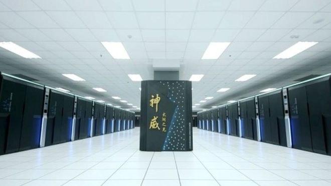 Chiński superkomputer TaihuLight /materiały prasowe