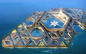 Chińskie pływające miasto