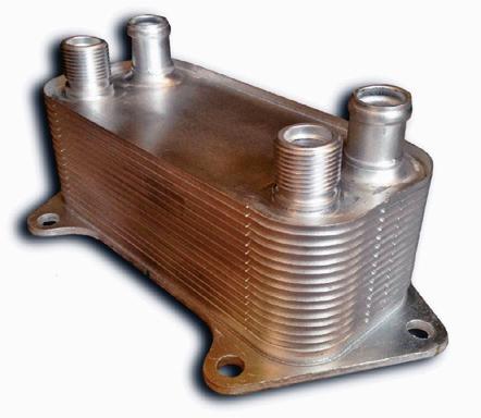 Chłodnica oleju skrzyni biegów /Motor