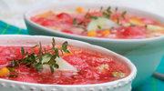 Chłodnik pomidorowy z arbuzem