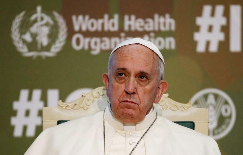 Chłopak całą sprawę opisał w liście do papieża /PAP/EPA