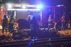 Chmielowice: Śmiertelny wypadek na przejeździe kolejowym