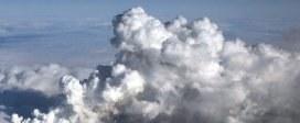 Chmura wulkanicznego pyłu nad Europą