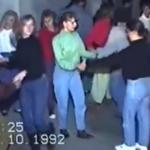Choinka i dyskoteka z lat 90.! Te nagrania przenoszą w czasie!