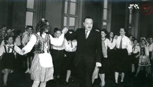 Choinka Noworoczna z Bolesławem Bierutem