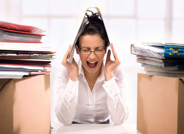 Choroby psychosomatyczne są wynikiem długotrwałych stresów /123RF/PICSEL