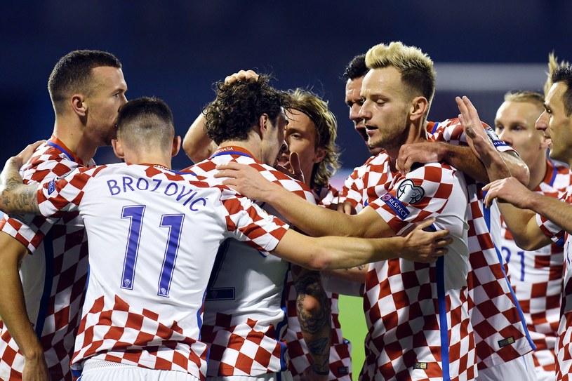Chorwaci nie dali szans Grekom /AFP