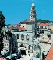 Chorwacja, Split, pałac Dioklecjana /Encyklopedia Internautica