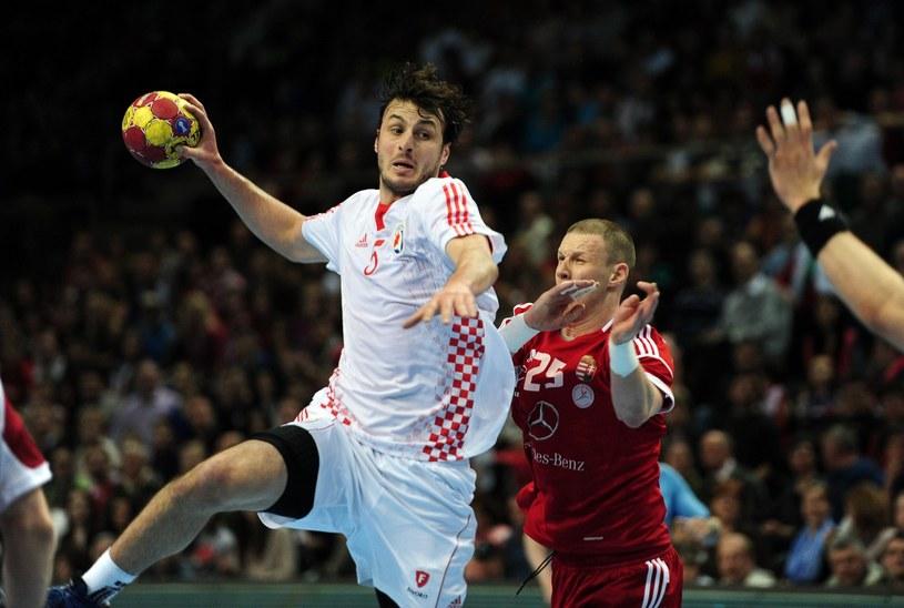 Chorwacki piłkarz reczny Domagoj Duvnjak /AFP