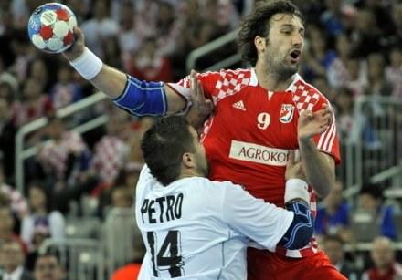 Chorwat Igor Vori z HSV Hamburg to jedna z największych gwiazd kielckiego turnieju. /INTERIA.PL