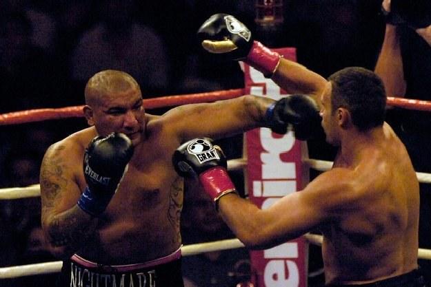 Chris Arreola w pojedynku z Witalijem Kliczko /AFP