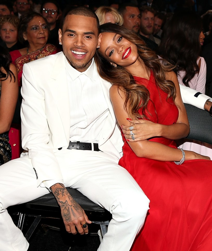 Chris Brown i Rihanna /Christopher Polk /Getty Images