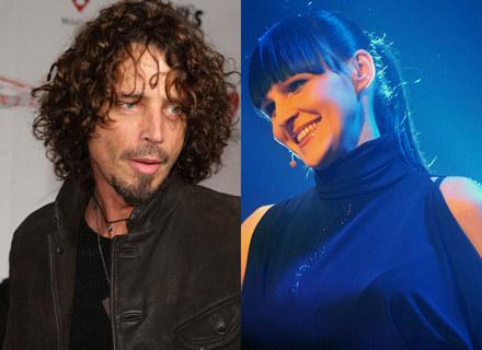 Chris Cornell i Agnieszka Chylińska - fot. Getty Images/AKPA /