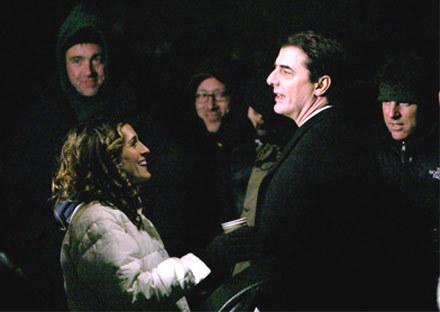 """Chris Noth i Sarah Jessica Parker w serialu """"Seks w wielkim mieście"""" /"""