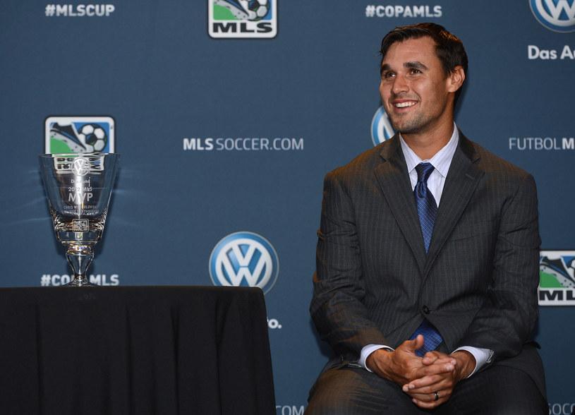 Chris Wondolowski z nagrodą dla MVP sezonu /AFP