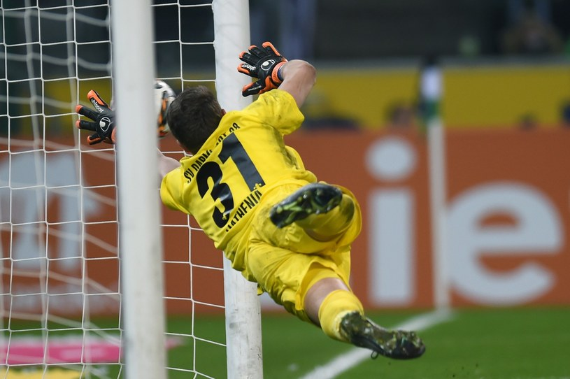 Christian Mathenia w bramce HSV /AFP