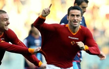 Christian Panucci zdobył dla Romy dwie bramki w meczu z Catanią /AFP