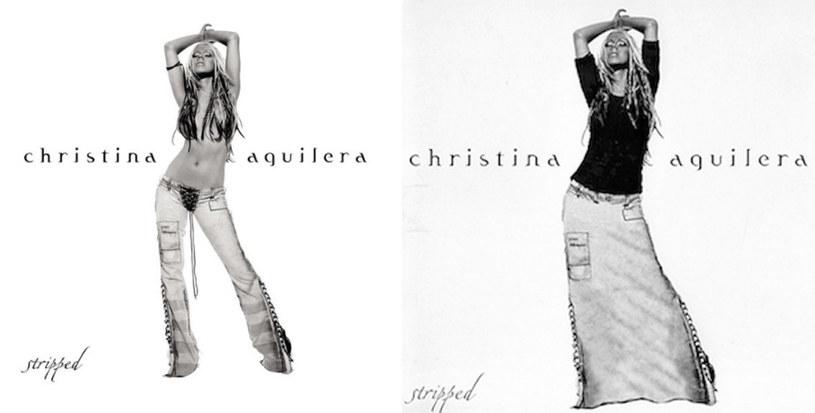 """Christina Aguilera na okładach """"Stripped"""" /"""