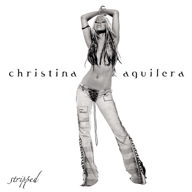 "Christina Aguilera na okładce ""Stripped"" /"