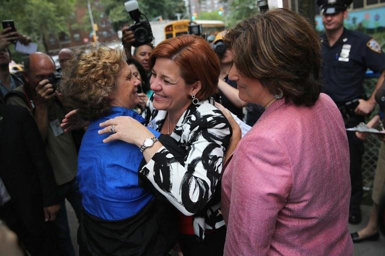 Christine C. Quinn /AFP