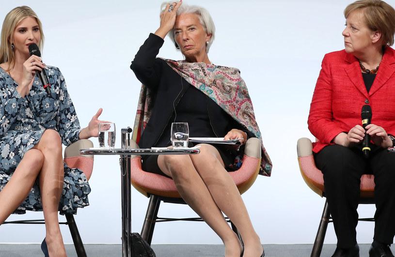Christine Lagarde słynie z zamiłowania do szali /Getty Images