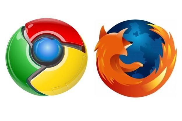 Chrome depcze po piętach przeglądarce Mozilli /materiały prasowe