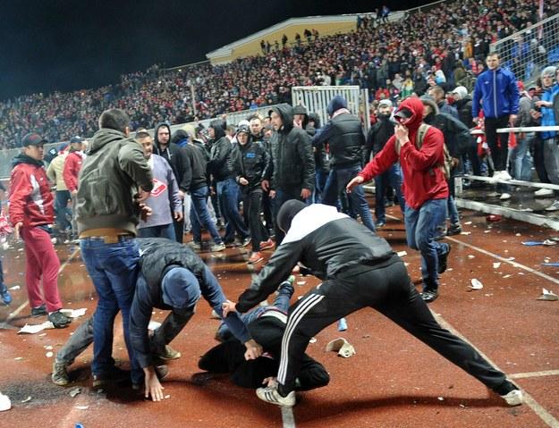 """Chuligani z Rosji zapowiadają """"festiwal przemocy"""" podczas MŚ 2018 /AFP"""