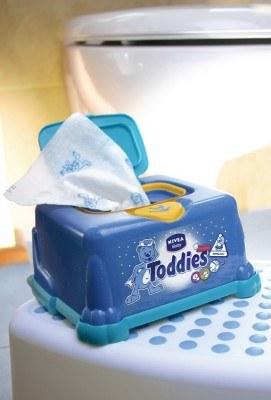 Chusteczki Toddies NIVEA Baby /materiały prasowe