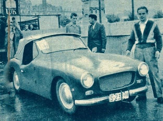 Chyba jedno z najładniejszych i najstaranniej wykonanych nadwozi zaprezentował Morysiński. /Motor