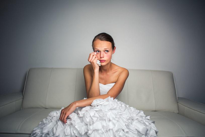 Chyba każdy przed ślubem ma momenty zwątpienia /123RF/PICSEL