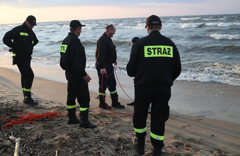 Ciało kobiety znaleziono w Bałtyku /Karolina Misztal /Reporter
