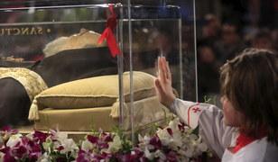 Ciało św. ojca Pio