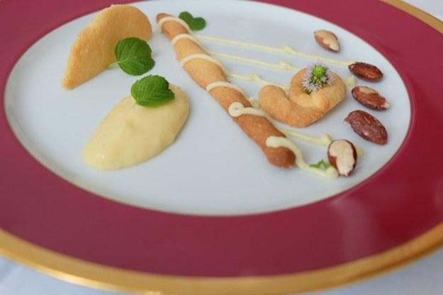Ciasto Basków « déstructuré » czyli jak skomplikować coś prostego i menu na ten tydzień.