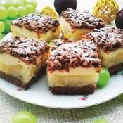 Ciasto gruszkowe z kruszonką jak u babci