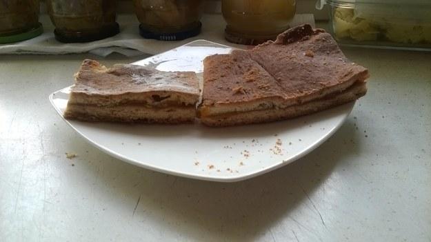 ciasto króche po angielsku z Jabłkami