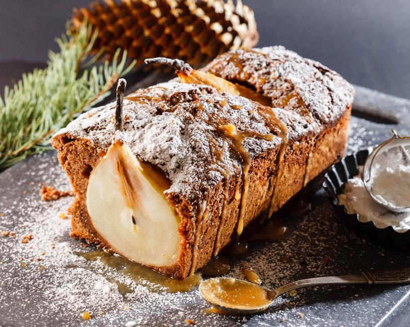 Ciasto z gruszkami /123RF/PICSEL