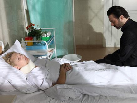 Ciąża Mai Kryńskiej (Małgorzata Kożuchowska) jest poważnie zagrożona /Polsat