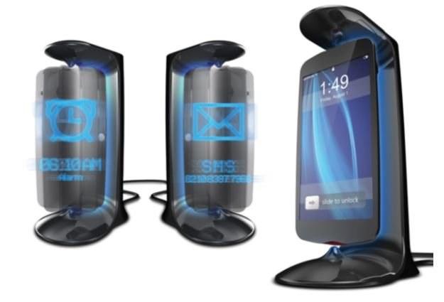 Ciekawy koncept telefonu - szczególnie elementy 3D /Komórkomania.pl