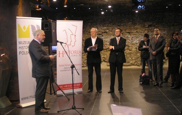 """""""Cieszę się szczególnie, bo zrobiłem to muzeum wbrew wszystkim"""" - skomentował Jacek Majchrowski /INTERIA.PL"""